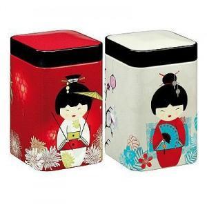 """Lata para chá """"Little Geisha"""""""