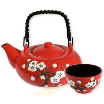 """Serviço de chá """"White Plum Blossom"""""""